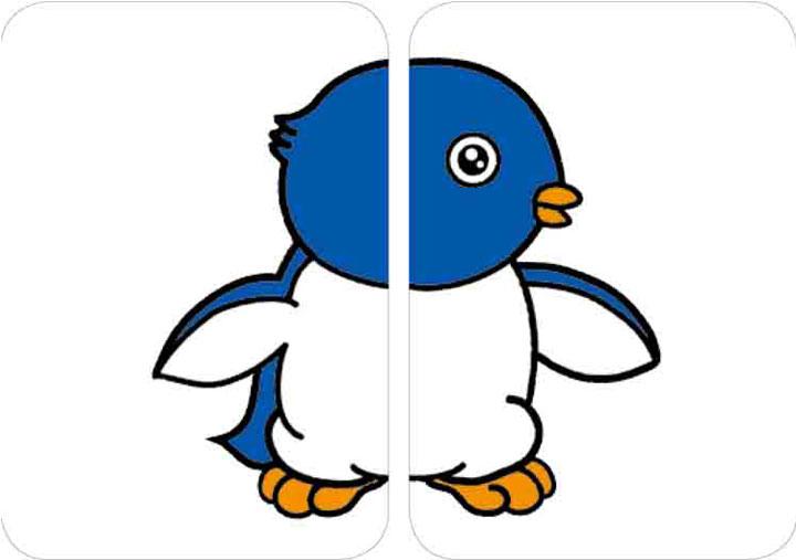 【幼福】左脑右脑baby配对卡-海洋动物(40张彩色图卡)