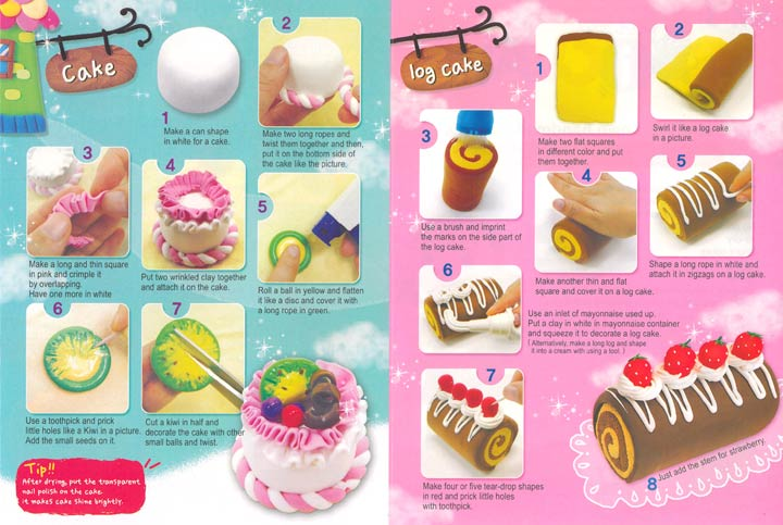 粘土蛋糕_美味蛋糕(超轻粘土 ...