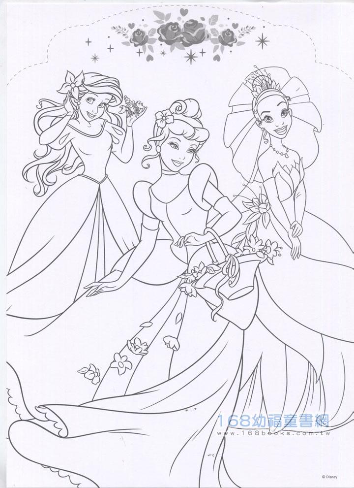 迪士尼公主简笔画图片大全