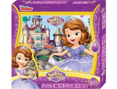 内容含3组 小公主苏菲亚可爱拼图,让您一次拥有多样小公主苏菲亚