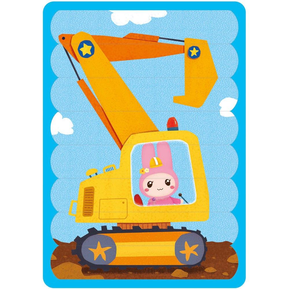 忍者兔Super棒拼圖組合
