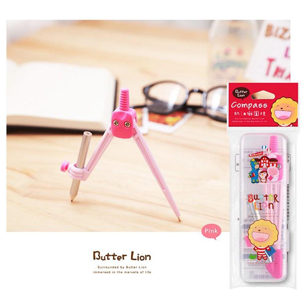 奶油獅圓規(粉紅)CP-502