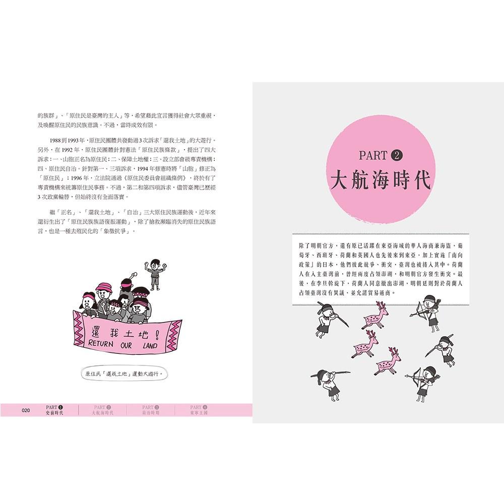 手繪圖解‧台灣史