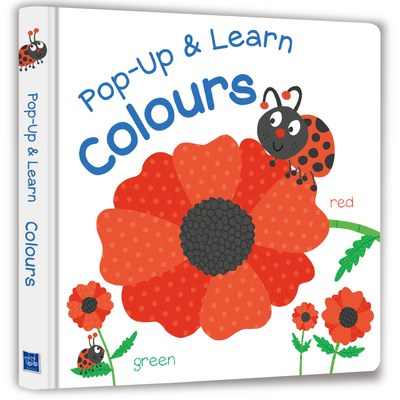 【Listen & Learn Series】Pop-Up & Learn Colours