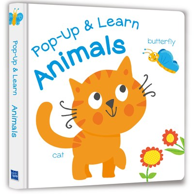 【Listen & Learn Series】Pop-Up & Learn Animals