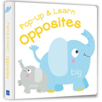 【Listen & Learn Series】Pop-Up & Learn Opposites