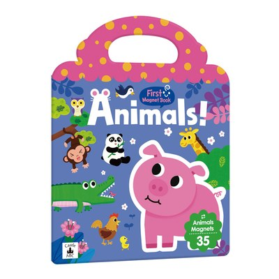 First Magnet Book - Animals