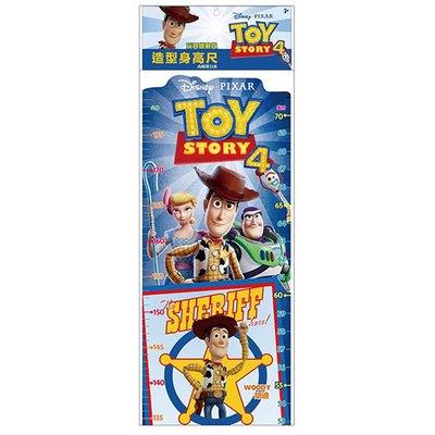 玩具總動員4造型身高尺(附視力表)