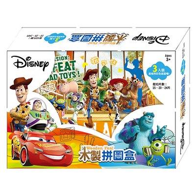 木製拼圖盒-迪士尼綜合