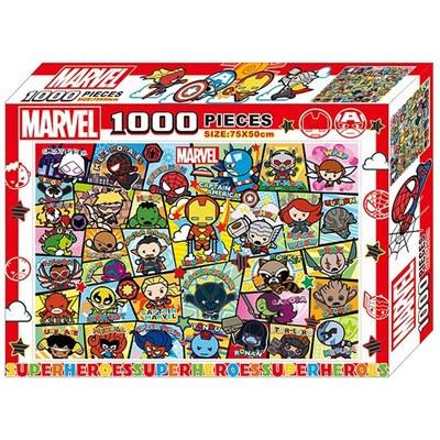 漫威卡哇伊1000片盒裝拼圖