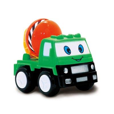 《出清福利品》趣味卡通慣性車-水泥車