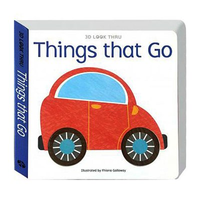 《出清福利品》3D LOOK THRU-Things that Go