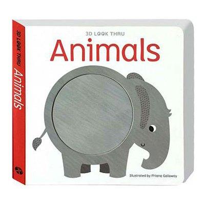 《出清福利品》3D LOOK THRU-Animals