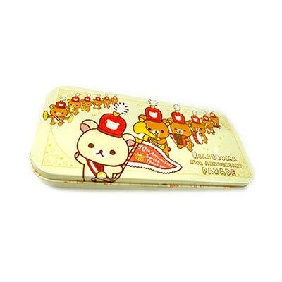 懶熊鉛筆盒cm(奶油色-舉旗樂隊)