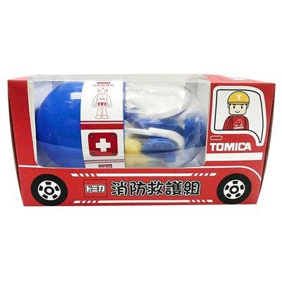 多美小汽車玩具系列-TOMICA消防救護組