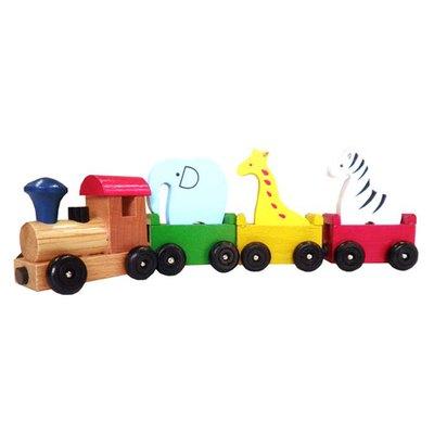 動物磁鐵火車(新版)