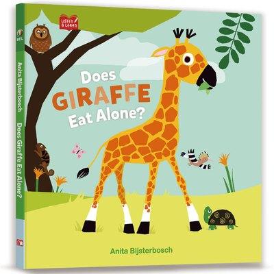 【Listen & Learn Series】Does Giraffe Eat Alone?