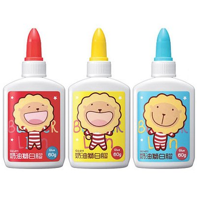 奶油獅多用途白膠(60g) GU411
