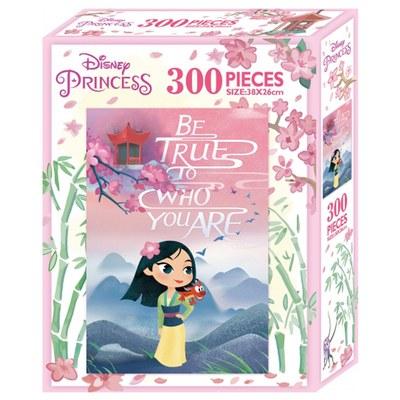 迪士尼公主300片盒裝拼圖-木蘭