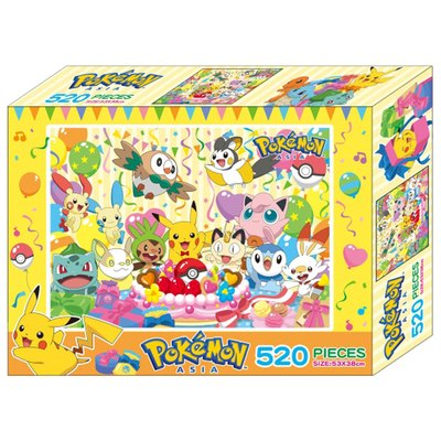 寶可夢520片盒裝拼圖(D)