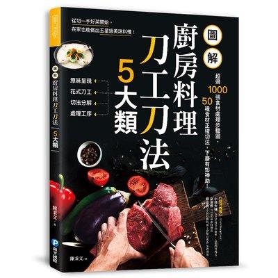 圖解廚房料理刀工刀法5大類